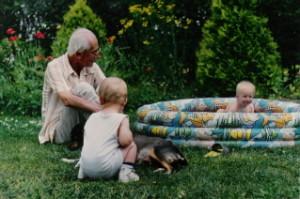 Wakacje z wnuczkiem Maciejem (1994)
